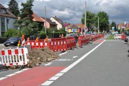 Straßensanierung